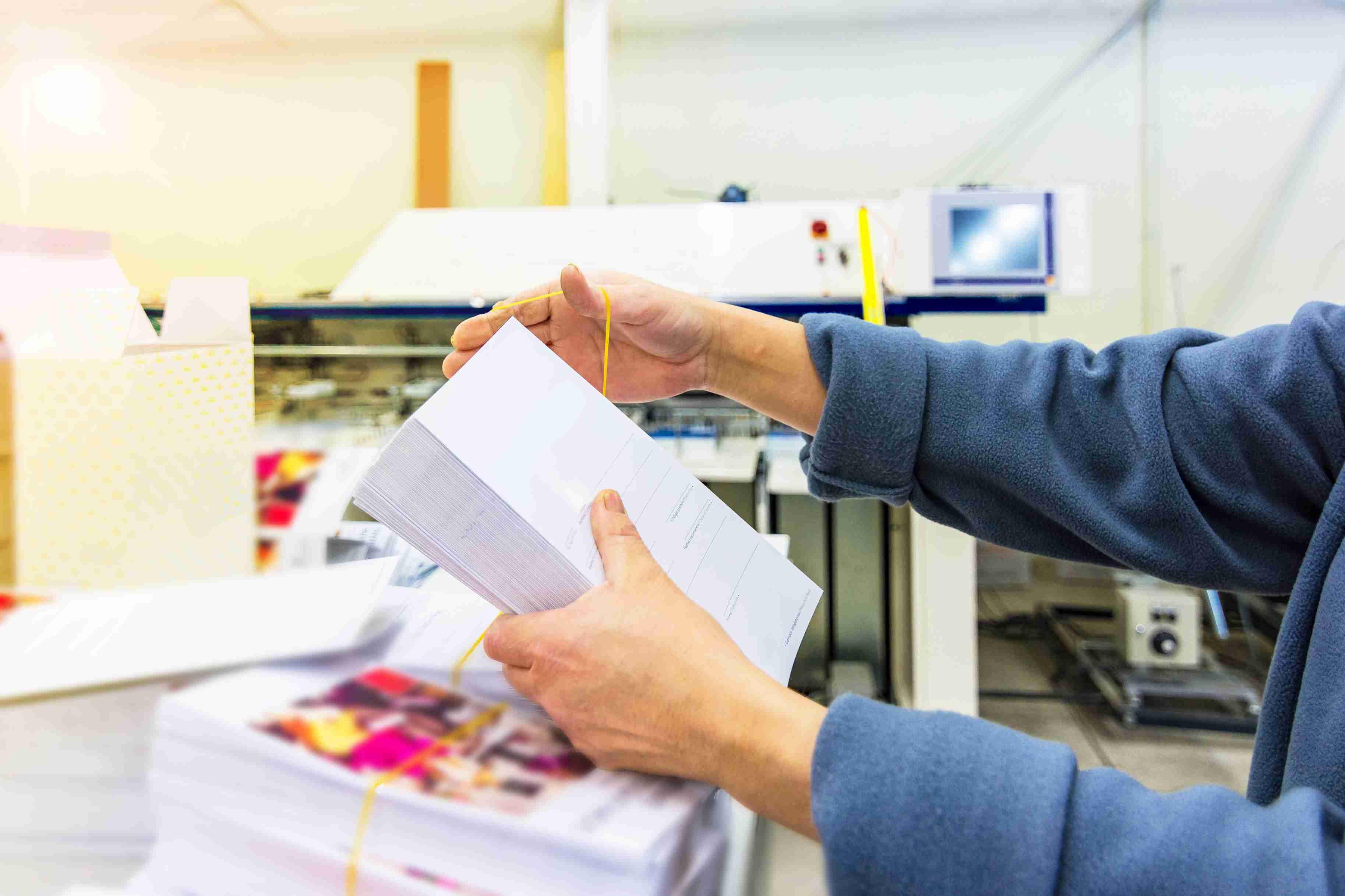 печать полиграфической продукции
